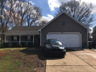 Memphis TN Single Family Home For Sale: $113,900