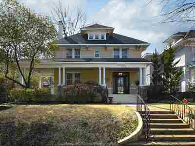 Memphis Single Family Home For Sale: 1379 Carr