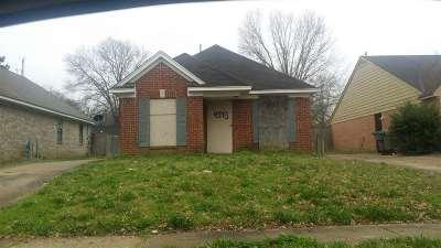 Memphis Single Family Home For Sale: 4543 Addington