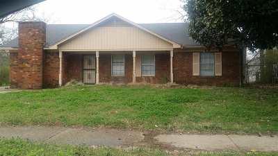 Memphis Single Family Home For Sale: 3537 Steele
