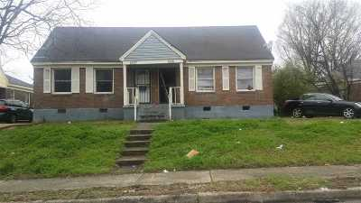 Memphis Single Family Home For Sale: 1375 Chadwick
