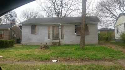 Memphis Single Family Home For Sale: 3571 Daggett