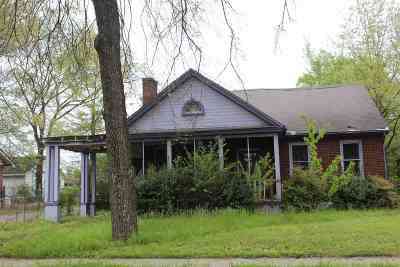 Memphis Single Family Home For Sale: 404 S Parkway