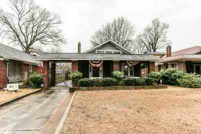 Memphis Single Family Home For Sale: 1281 N Parkway