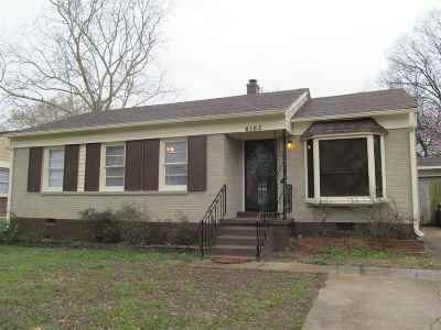 Memphis Single Family Home For Sale: 4165 Wales