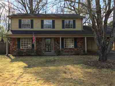 Germantown Single Family Home For Sale: 2557 Mimosa Tree