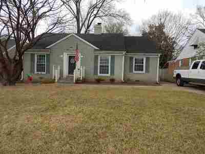 Memphis Single Family Home For Sale: 3534 Charleswood