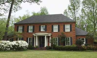 Memphis Single Family Home For Sale: 378 N River Oaks
