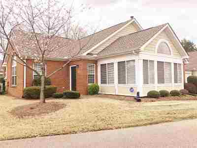 Collierville Condo/Townhouse For Sale: 1099 Oak Heights #125