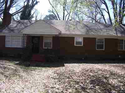 Memphis Single Family Home For Sale: 875 Blanchard