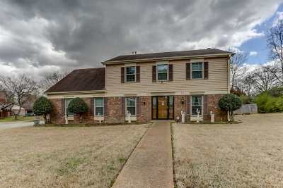 Memphis Single Family Home For Sale: 6299 Ridge Manor