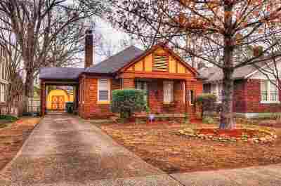Memphis Single Family Home For Sale: 486 S Reese