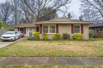Memphis Single Family Home For Sale: 1474 Maxine