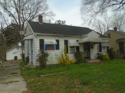 Memphis Single Family Home For Sale: 3074 Manhattan