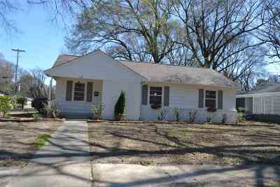 Memphis Single Family Home For Sale: 1146 W Perkins