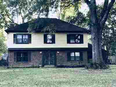 Memphis Single Family Home For Sale: 6533 Swarthmore