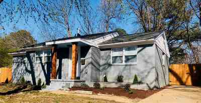 Memphis Single Family Home For Sale: 1118 S White Station