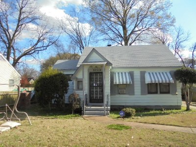 Memphis Single Family Home For Sale: 2603 Larose