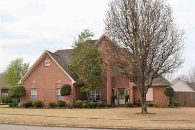 Shelby County Single Family Home For Sale: 521 Old Collierville-Arlin
