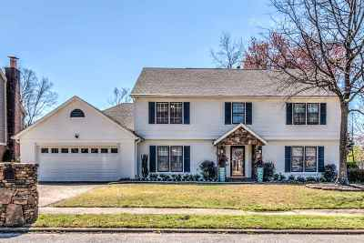 Memphis Single Family Home For Sale: 6853 Wytham