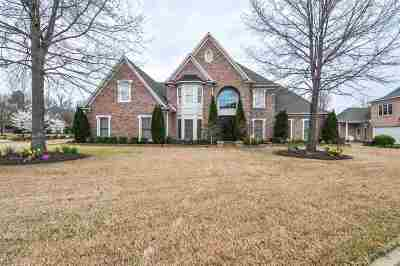 Collierville Single Family Home For Sale: 1706 Patton Place