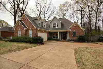 Collierville Single Family Home Contingent: 639 Wood Valley