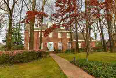 Collierville Single Family Home Contingent: 984 Eastwood
