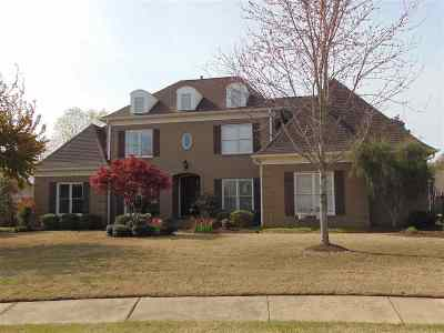 Collierville Single Family Home Contingent: 1155 Moss Creek