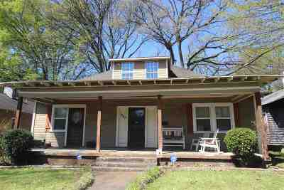 Cooper, Cooper Young Single Family Home For Sale: 1067 Fleece
