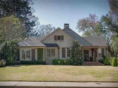 Memphis Single Family Home Contingent: 345 Williamsburg