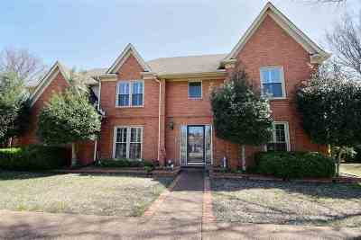 Collierville Single Family Home Contingent: 3544 Shea