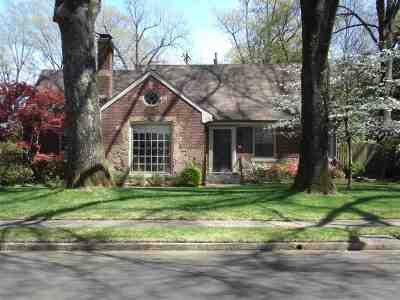 Memphis Single Family Home For Sale: 28 S Ashlawn