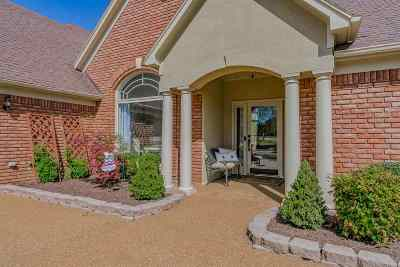 Collierville Single Family Home Contingent: 1400 Asbury
