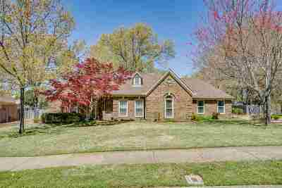 Collierville Single Family Home Contingent: 300 Morton