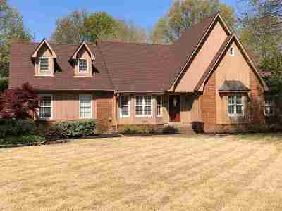 Collierville Single Family Home Contingent: 665 Kenrose