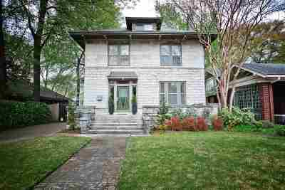 Memphis Single Family Home For Sale: 1950 Central