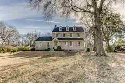 Collierville Single Family Home Contingent: 369 W Poplar