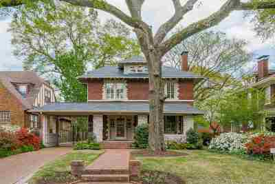 Memphis Single Family Home Contingent: 324 Buena Vista