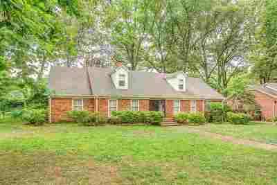 Memphis Single Family Home For Sale: 4299 Amber