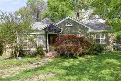Memphis Single Family Home For Sale: 282 N Highland