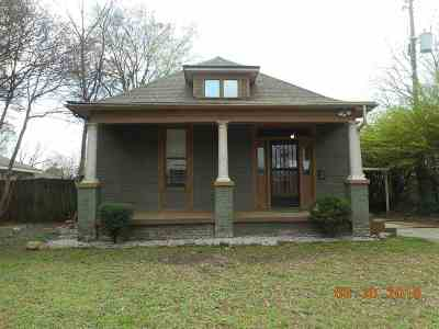 Memphis TN Single Family Home For Sale: $133,900
