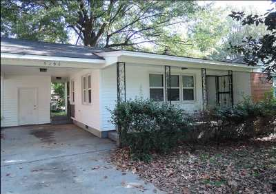 Memphis TN Single Family Home For Sale: $57,900