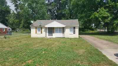 Memphis TN Single Family Home For Sale: $51,000