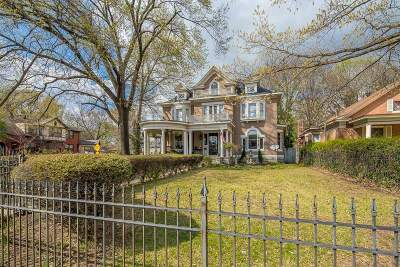 Memphis Single Family Home For Sale: 1716 N Parkway