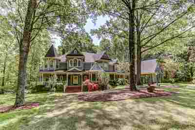 Memphis Single Family Home For Sale: 9250 Riveredge