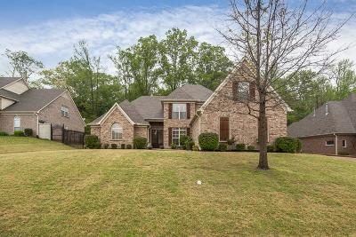 Bartlett Single Family Home For Sale: 8808 Carriage Creek