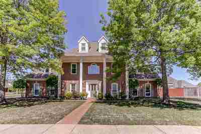 Collierville Single Family Home Contingent: 425 Grand Steeple