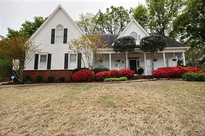 Collierville Single Family Home Contingent: 789 Belle Watley