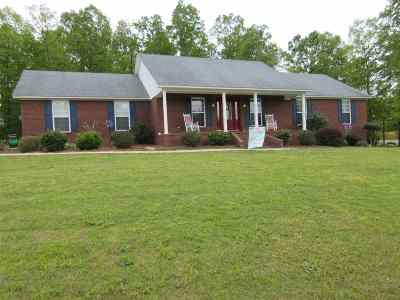 Selmer Single Family Home For Sale: 286 Dusty