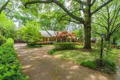 Memphis Single Family Home For Sale: 274 S Grove Park